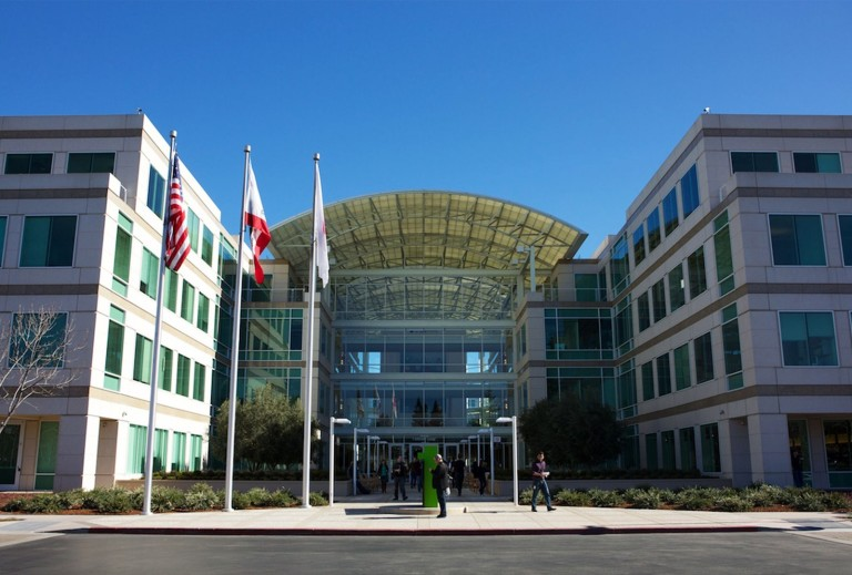 Apple Park, a nova fantástica sede da empresa  Realizei este