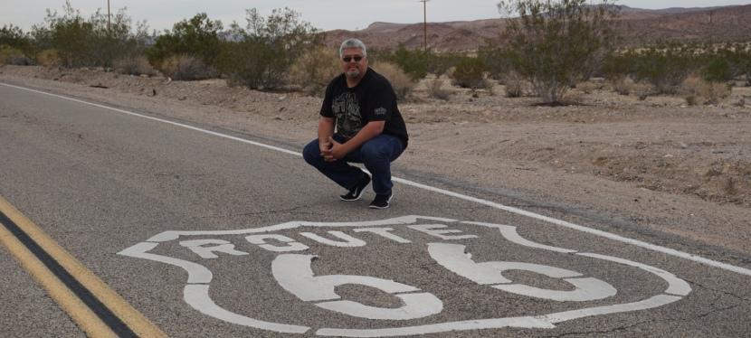 À Procura do Símbolo (no asfalto) da ROTA66….