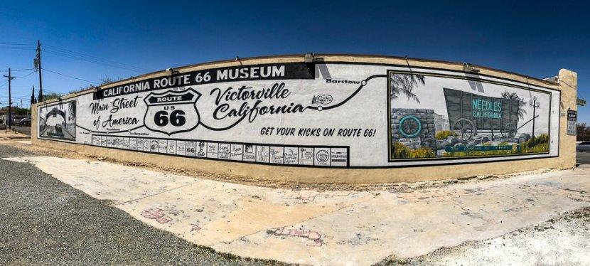 Museu da Rota 66, em Victorville naCalifórnia.